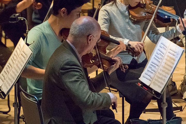 ウィーン・フィルのコンサートマスター、ライナー・キュッヒルが今年も出演