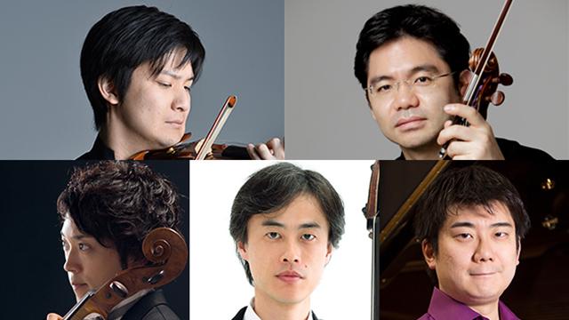 上段左より)成田達輝、佐々木 亮 下段左より)横坂 源、山崎 実、佐藤卓史