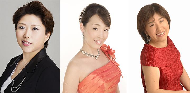左より)駒井ゆり子、富岡明子、赤塚博美