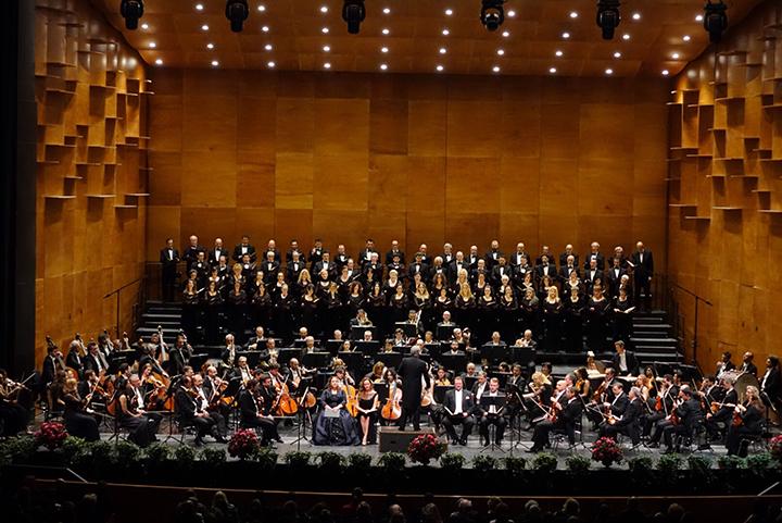 フィレンツェ五月音楽祭 開幕コンサートより「第九」 Photo: Gianluca Moggi