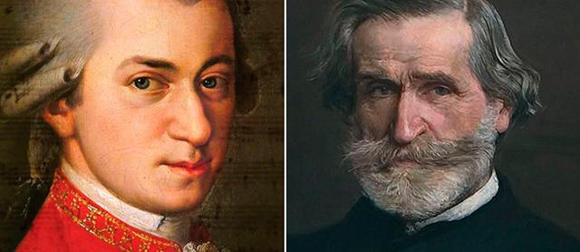 モーツァルトとヴェルディ