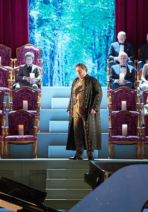 ステファン・グールド演じるバッカス(ウィーン国立歌劇場公演より) Photo: Wiener Staatsoper / Michael Poehn