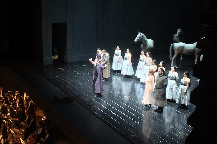 圧倒的な歌唱を聴かせたヴォータン役のトマス・コニエチュニー