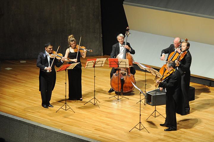 モーツァルト協会9月例会、東京文化会館小ホールにて。  photo: Naoko Nagasawa