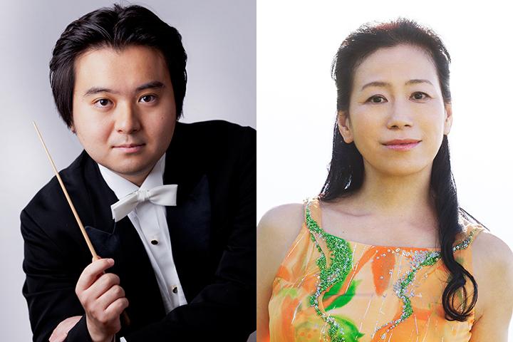 左:伊藤 翔 C)K.Miura 右:小山実稚恵 C)ND CHOW