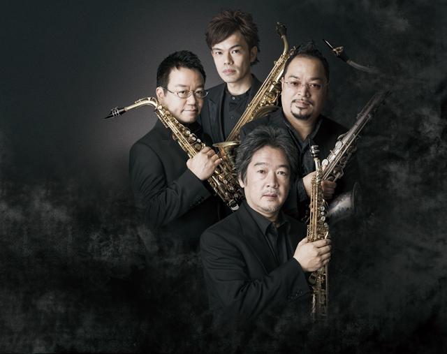 右から時計まわりに:林田和之、雲井雅人、佐藤渉、西尾貴浩