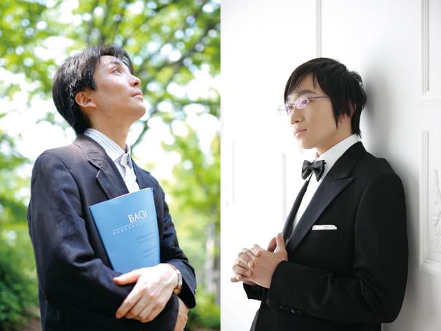 左)内藤晃 右)阪田知樹
