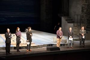 左から)高島勲、坂井田操、稲葉直人、鈴木俊朗、小宮正安、三浦安浩