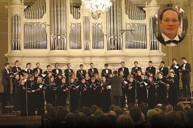 国立モスクワ音楽院室内合唱団(枠内:アレクサンドル・ソロヴィヨフ)