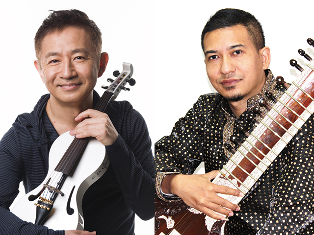 左:中西俊博 右:サワン・ジョシ