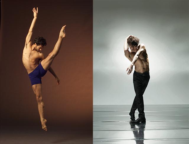 左:ラスタ・トーマス(C)Rasta Thomas' BAD BOYS OF DANCE 右:大貫勇輔