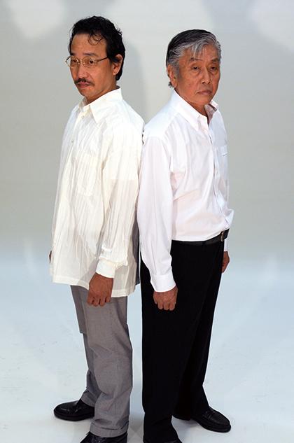 左:吉岡扶敏 右:西川明