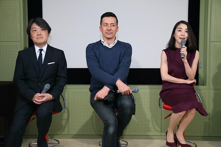 左から)千住明、桐島ローランド、近衛はな 写真提供:テレビ東京