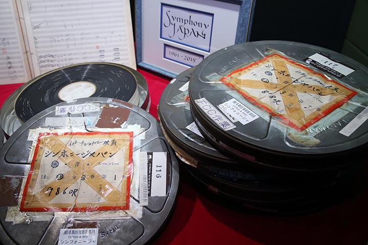 倉庫から見つかった35mmフィルム缶 写真提供:テレビ東京