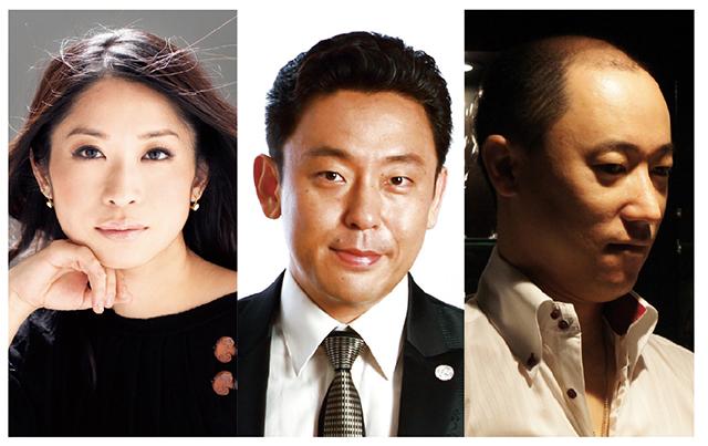 左より:川久保賜紀 ©Yuji Hori、 横山幸雄 ©Masafumi Nakayama、槇田貴久