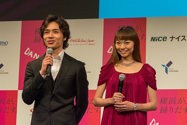 左:柄本弾 右:上野水香