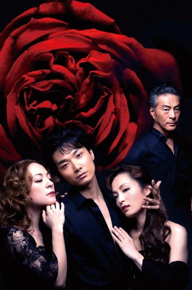 左より:シルビア・グラブ/井上芳雄/ 和音美桜/福井貴一 撮影:熊谷仁男