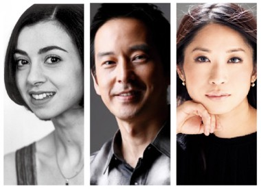 左より:ニーナ・アナニアシヴィリ/青柳 晋/川久保賜紀 ©Yuji Hori