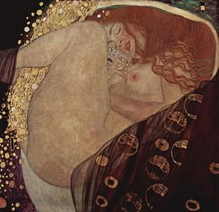 クリムト『ダナエ』 1907-1908年 Galerie Würthle(ウィーン)