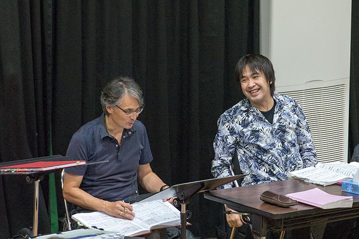 左)準・メルクル、右)深作健太 Photo:M.Terashi/TokyoMDE