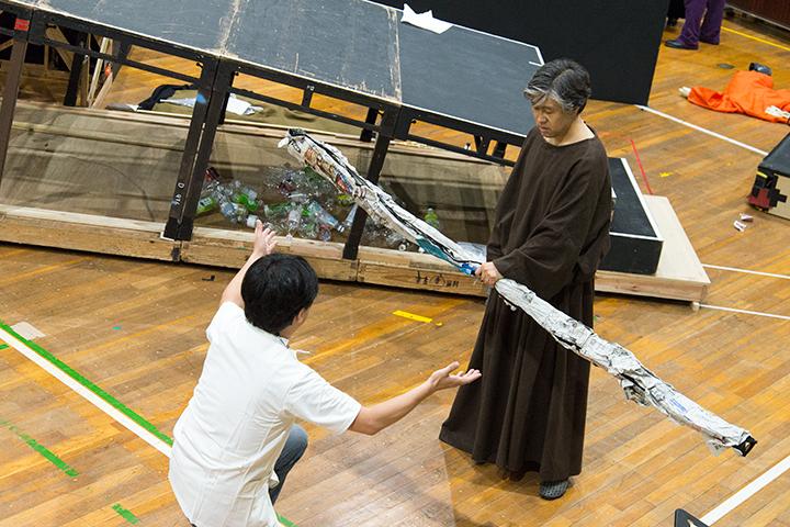 メルクール(児玉和弘)、ユピテル(小森輝彦) Photo:M.Terashi/TokyoMDE