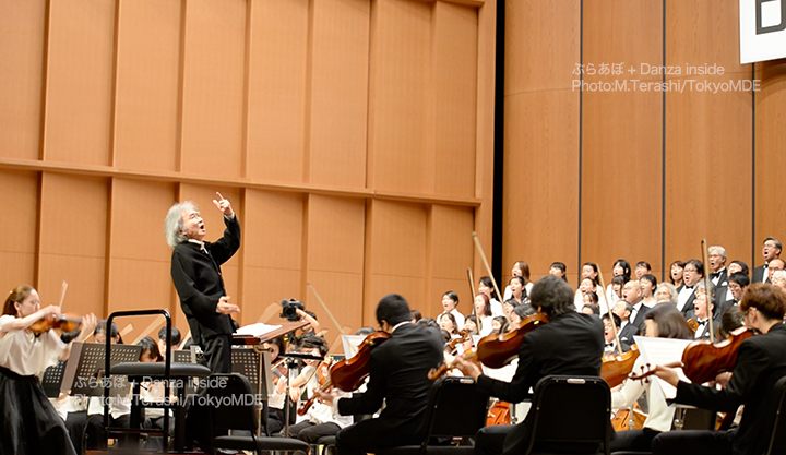 小澤征爾音楽塾を指揮する小澤征爾 Photo:M.Terashi/TokyoMDE