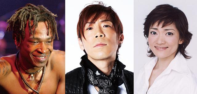左より:Tamango/HIDEBOH/島田歌穂