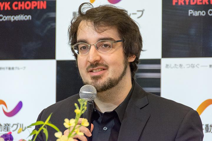 シャルル・リシャール=アムラン(カナダ/第2位、ソナタ賞)