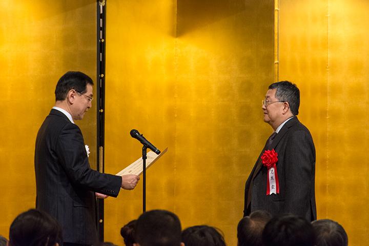 右:児玉 宏 左:堂故 茂・文部科学大臣政務官