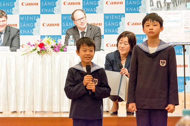 ミノルくん(12歳)、サトシくん(11歳)