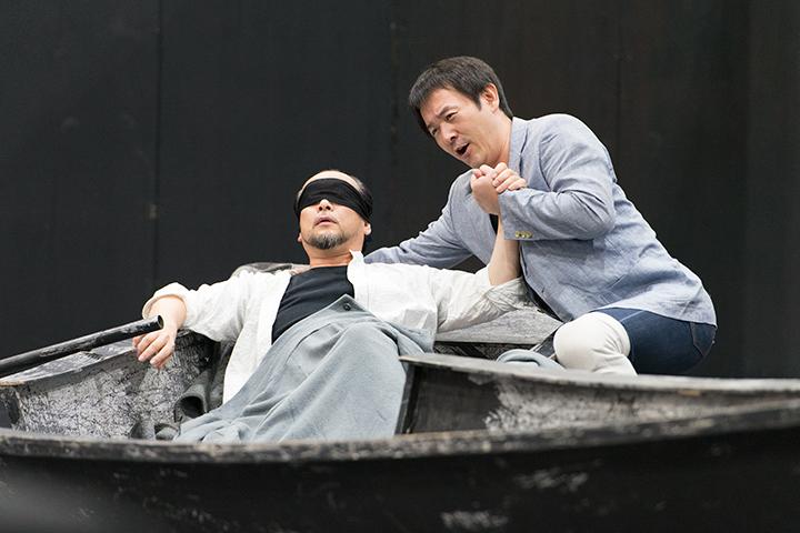右)クルヴェナール:友清崇 トリスタン:福井敬