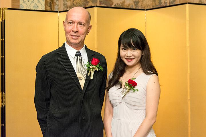 左)井上道義 右)萩原麻未 Photo:M.Otsuka/Tokyo MDE
